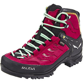 SALEWA Rapace GTX Chaussures Femme, tawny port/limelight